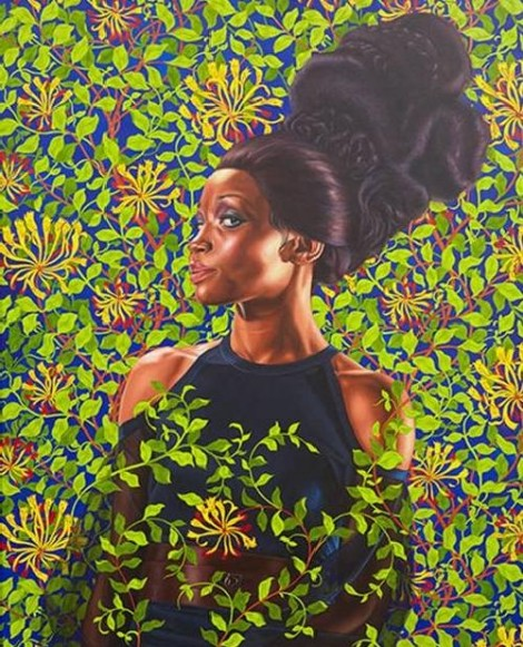 The plant power of Kehinde Wiley's portraits