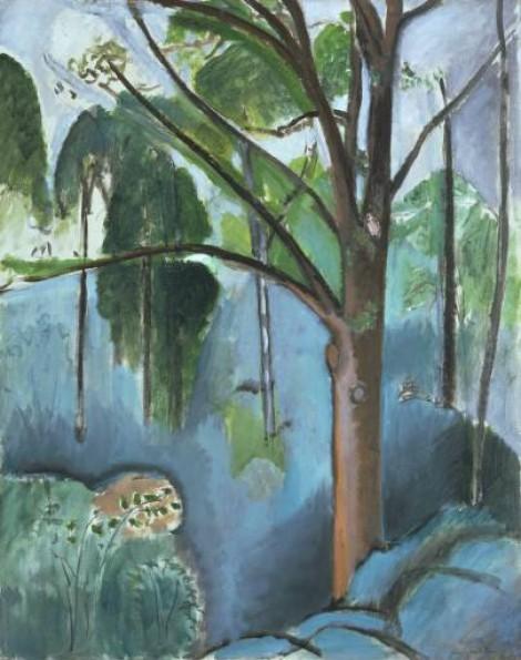 Matisse's Trivaux Pond