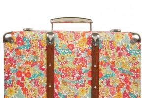 Margaret Liberty print miniature suitcase
