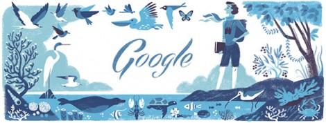 Google Doodles – Rachel Carson