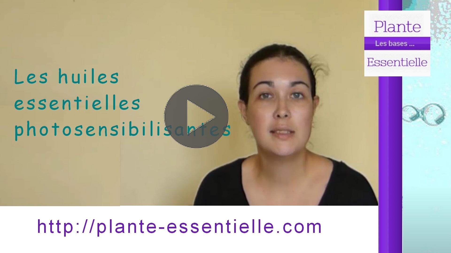 Les huiles essentielles photosensibilisantes [Vidéo]