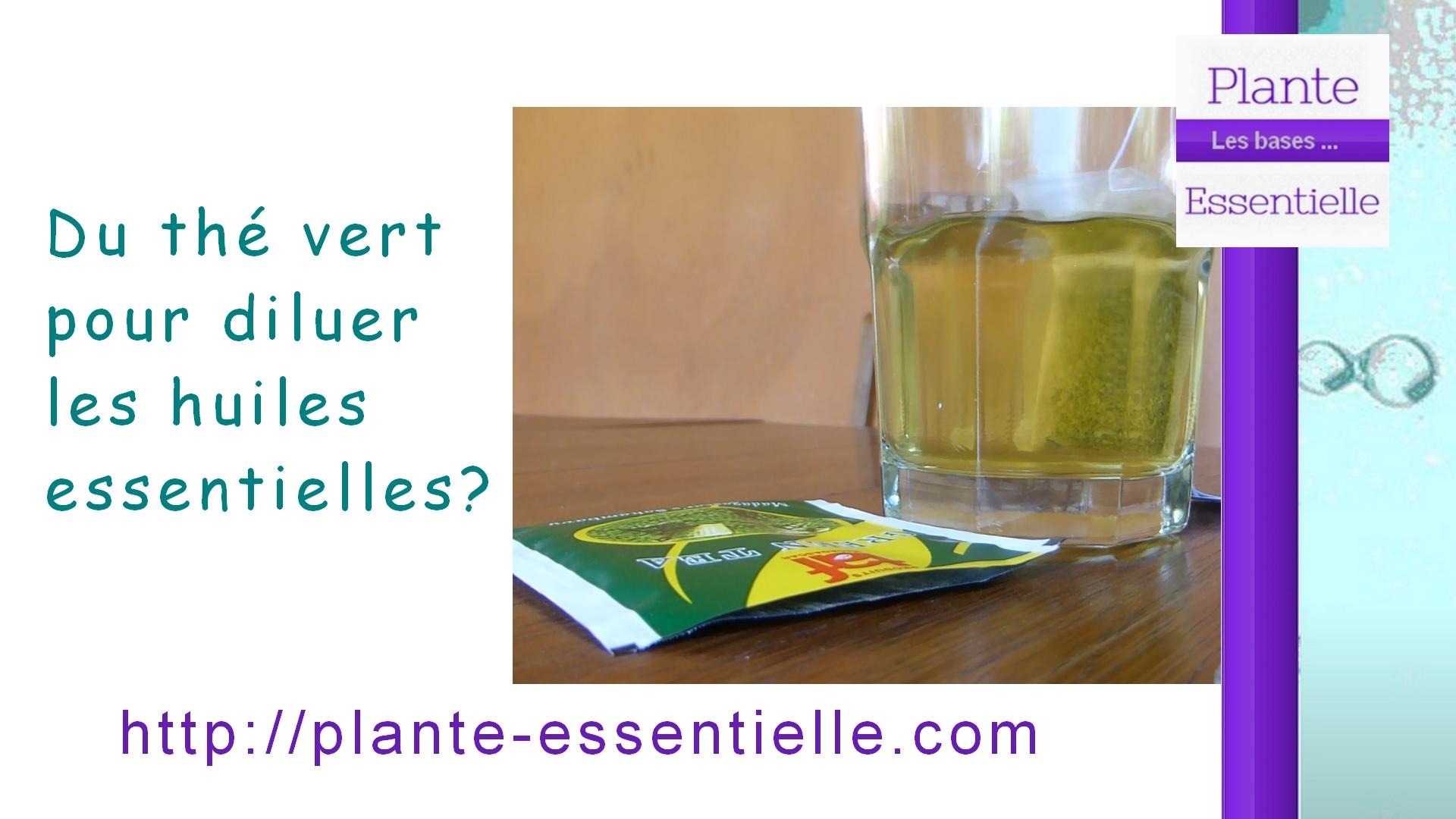 Des huiles essentielles solubles dans le thé?