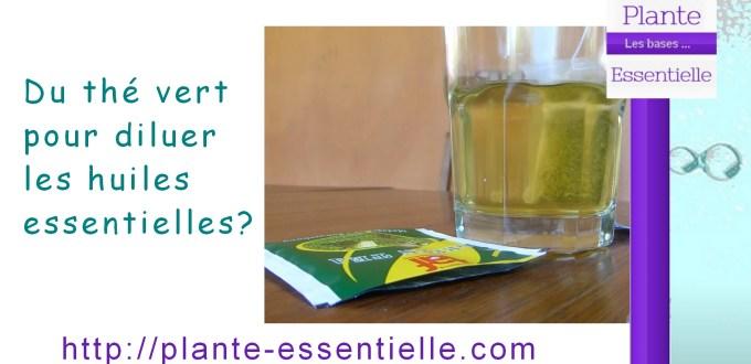 huiles essentielles the vert