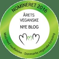 Nomineret årets veganske nye blog 2016