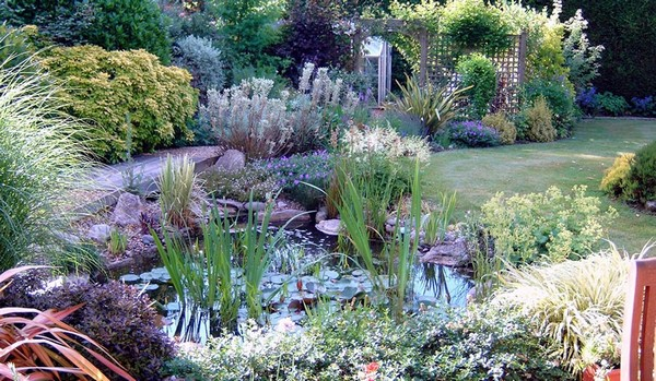 41 Inspiring Garden Water Features With Images Planted Well