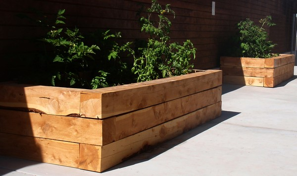 landscaping timbers ideas