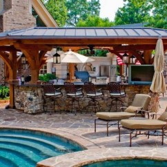 Outside Kitchen Designs Home Depot Cabinet Refacing 31 Amazing Outdoor Ideas Planted Well With Pool