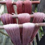 plantefarvet garn