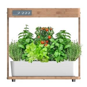 Indendørs køkkenhave u/jord vækstlyssystem 20W LED