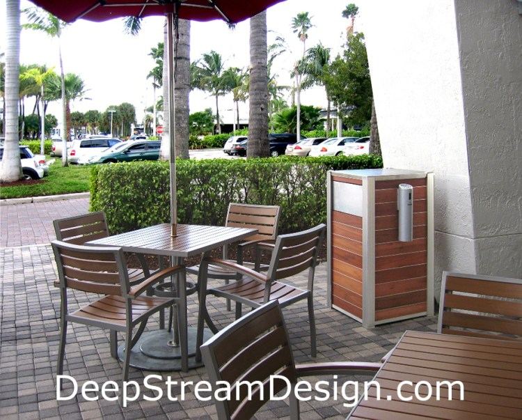 Custom Restaurant Patio and Sidewalk Cafe Planters and Fixtures