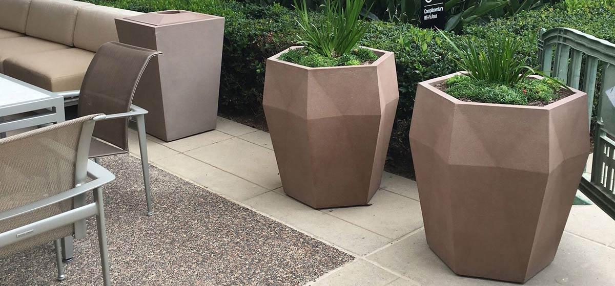 Harlie Fiberglass Planters