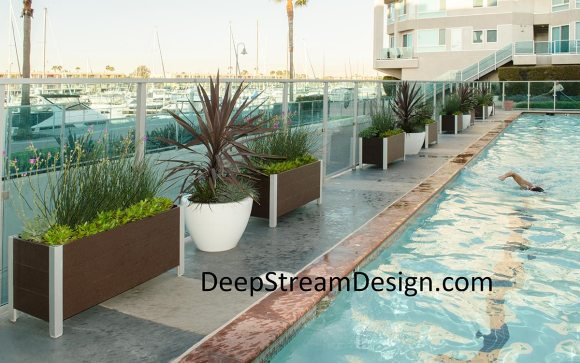 Click for more information DeepStream's Commercial Recycled Plastic Lumber Wood Planters