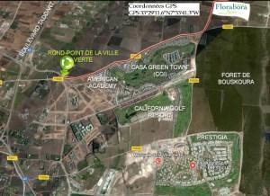 Plan ville verte - Accès Florabora