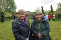 Somerset members at George Smith's garden