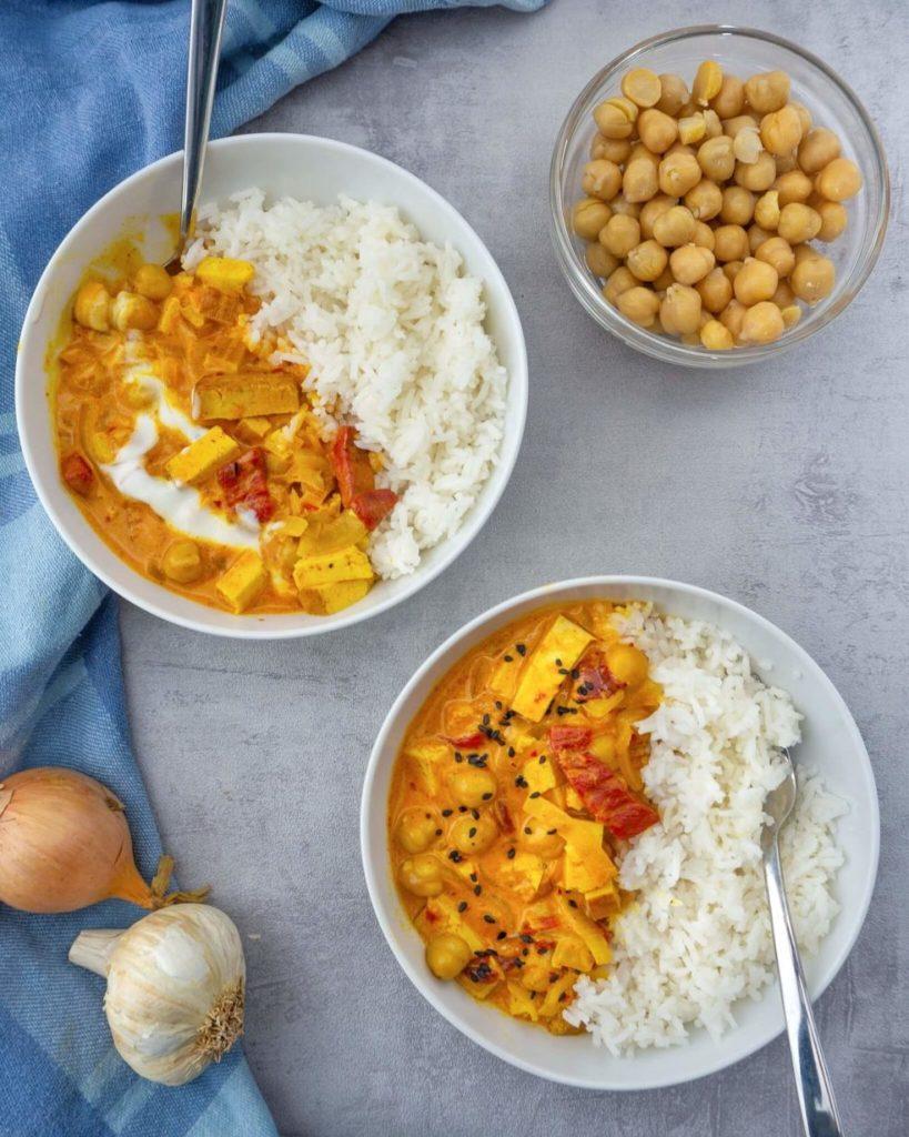 Gelbes Thai Curry