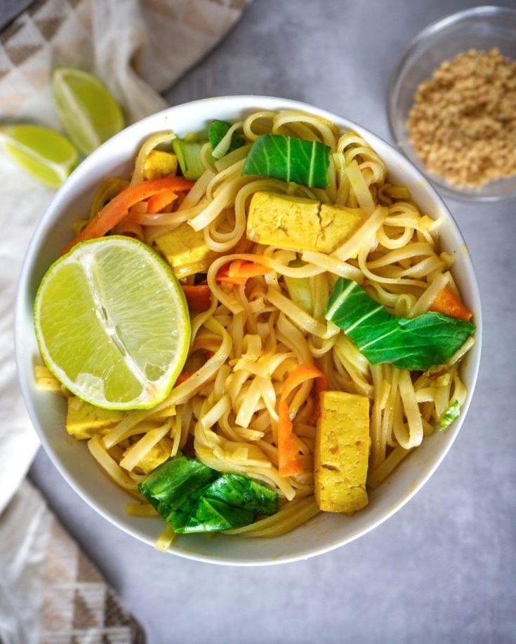 Pad Thai mit Tofu