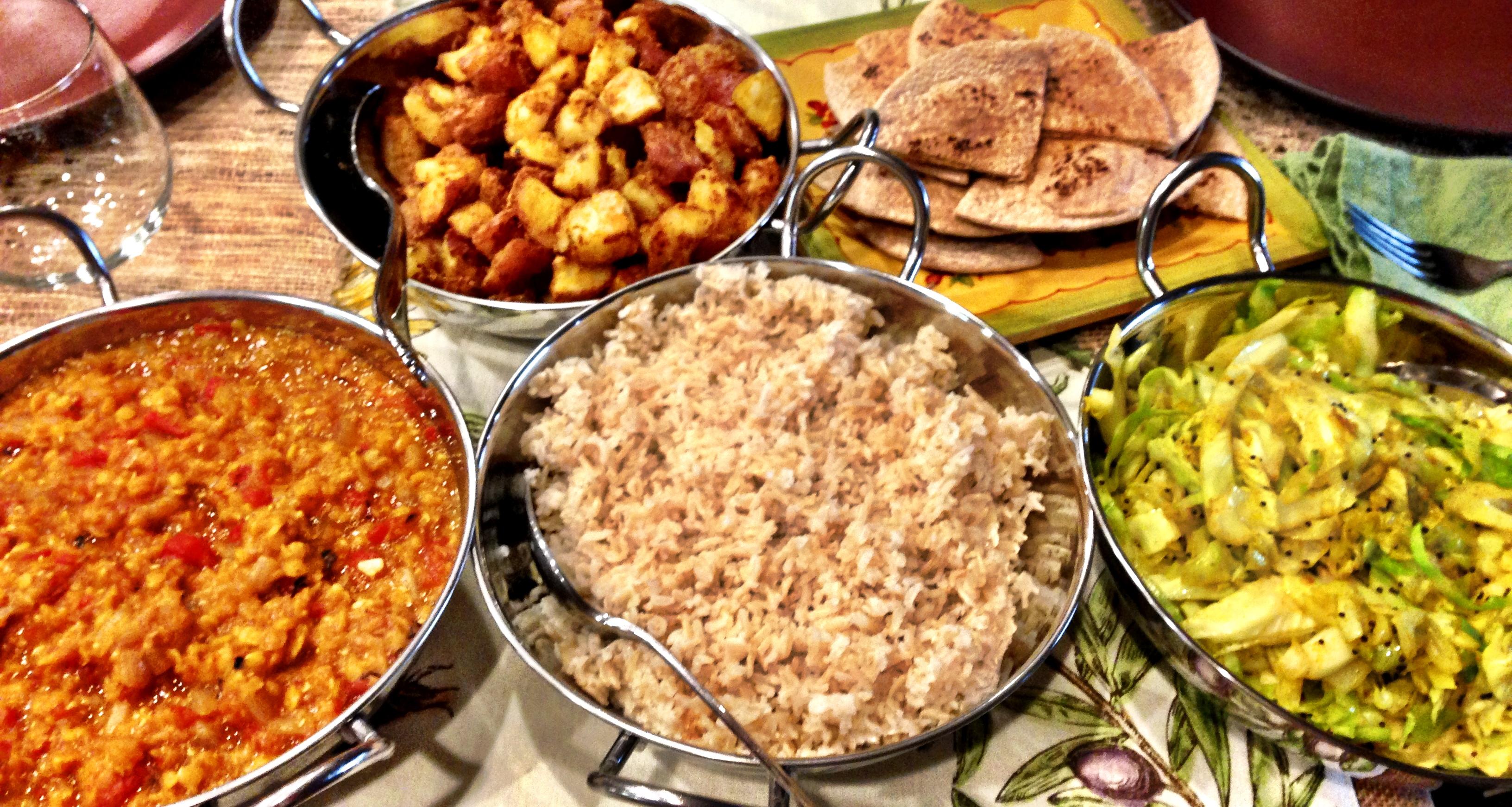 Red Lentil Curry || vegan + oil-free + low-fat + gluten ... - photo#34