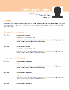 Descargar Modelos De Curriculum Vitae Basico Para Completar Sample
