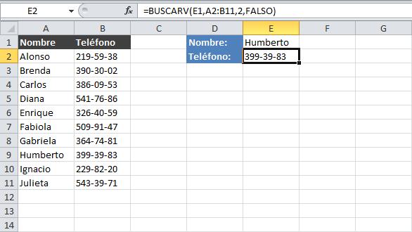 Actualizar resultado funciónI BUSCARV