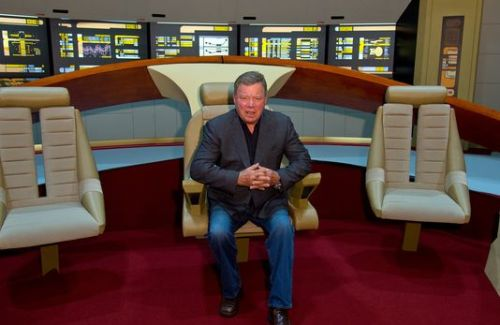 Actor William Shatner plans to create a Kickstarter campaign to raise money for a water pipeline from Washington-state to California.