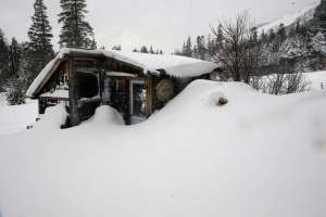 Recent snowfall in the Sierra. Photo by Michael Macor, San Francisco Chronicle.