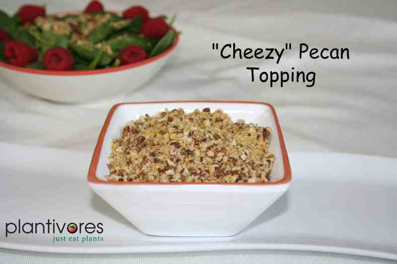"""Cheezy"" Pecan Topping"