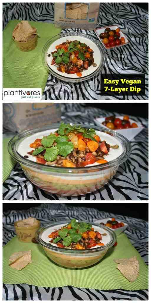 Vegan 7-Layer Dip | Plantivores