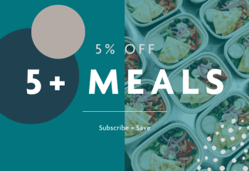 5+ meals subscription