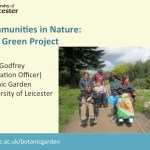 Communities in Nature project - part 3