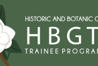 Historic and Botanic Garden Trainee Programme