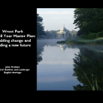 West Park the 20 Master plan; enabling change and guiding a new future