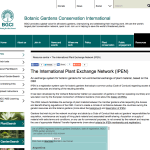 International Plant Exchange Network (IPEN)
