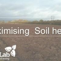 Maximising soil health