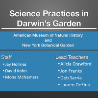 Darwin science at the American Museum of Natural History