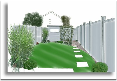 grey fence fab fronts for shade