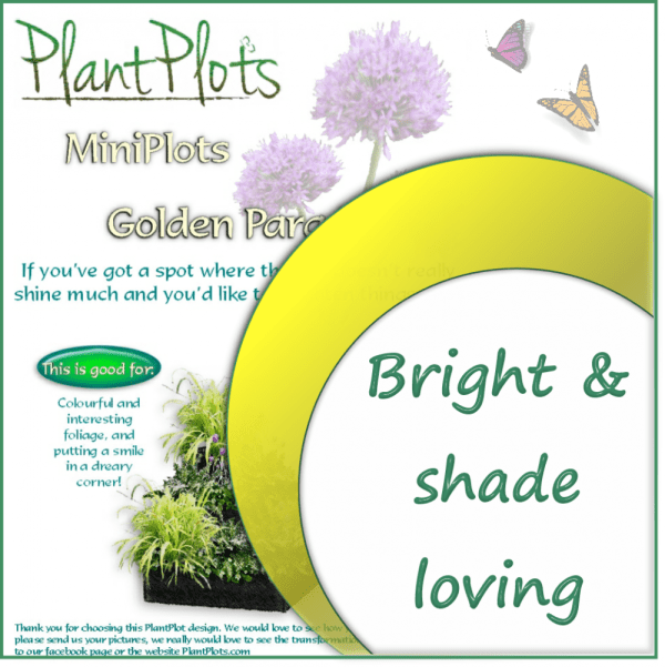 link to planing in shade garden border design product
