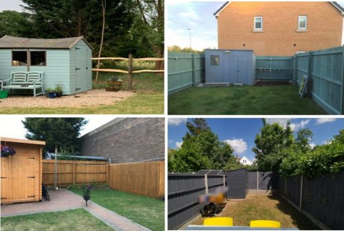 Ugly sheds and how to hide them