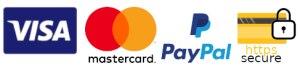 secure master card visa paypal