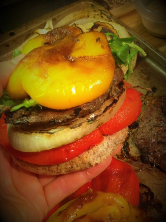 Chef's Tip: For the Ultimate Burger, top this with grilled onion, belle peppers, and baby arugula. This is ultimate healthy, plant-based vegan satisfaction