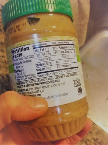 "Chef's Ingredient Tip: Double-check the Peanut Butter label. Look for a brand that has no extra oils, sugars, or syrups listed. These are often called peanut butter ""spread"""