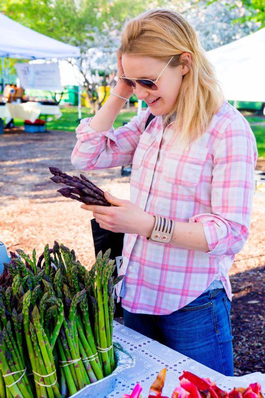 Use other seasonal vegetables like purple asparagus