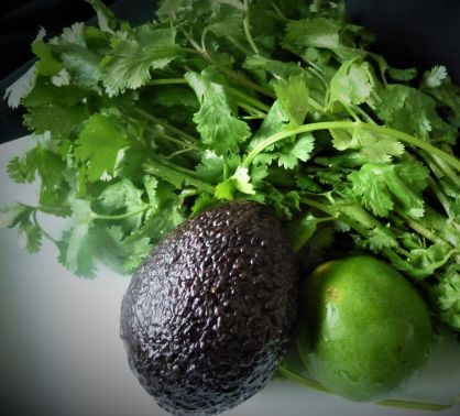 Avocado, lime, and cilantro: Just a few simple ingredients come together in this fast, fresh healthy dressing