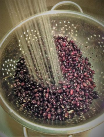 Always drain and rinse beans after soaking.