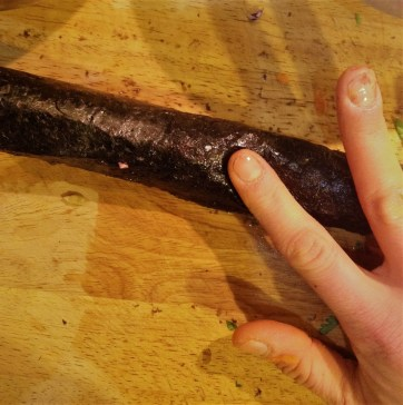 Chef's Nori Rolling Tip: Seal the seam of the Nori wrap with a little bit of water.