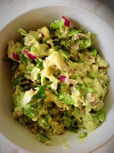 5 Minute Essential Guacamole - Healthy, Gluten-Free, Oil-Free, Plant-Based, Vegan, Mexican Avocado Easy Dip Recipe (3)