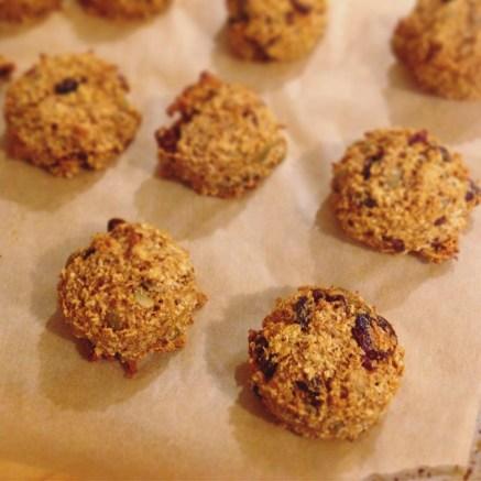 Bake until golden brown. Let cool 10 minutes before storing or eating.