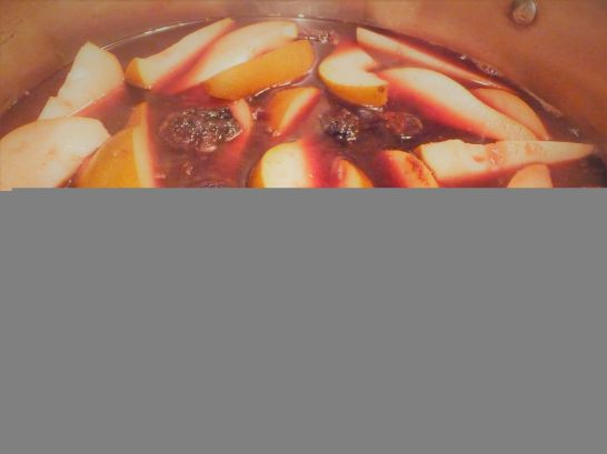 Chef's Tip: Add enough liquid to cover just 1/2-inch of the fruit. Stir or flip the fruit to make sure it even soaks up some of the poaching liquid for healthy, fat-free, delicious flavor