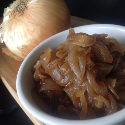 Oil-Free Caramelized Sweet Onions - Healthy, Fat-Free Vegan Recipe