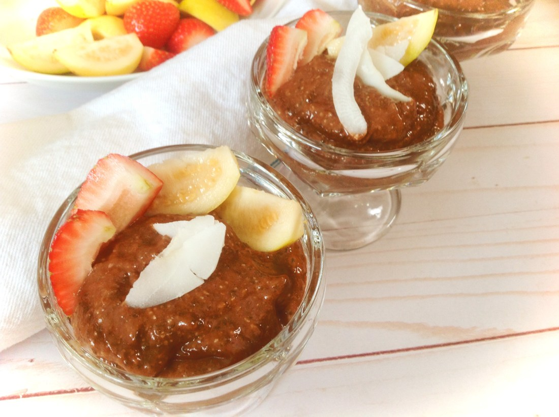 Mocha Chocolate Chia Pudding - Healthy, Vegan, Raw, Gluten-Free Dessert Recipe from Plants-Rule
