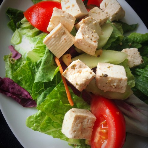 Vegan Tofu Feta Cheese - Healthy, Plant-Based, Dairy-Free, Gluten-Free, Greek Recipe